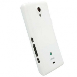 Krusell Color Cover Weiß Case Tasche für Sony XPERIA T TL Schutz-Hülle Hardcover