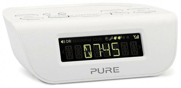 Pure Siesta Mi 2 Digital-Radio Radio-Wecker Uhren-Radio FM UKW DAB DAB+ RDS USB