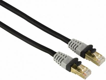 Hama 7, 5m Netzwerk-Kabel Cat6 Lan-Kabel Patch-Kabel Cat 6 Gigabit Ethernet VDSL - Vorschau 1