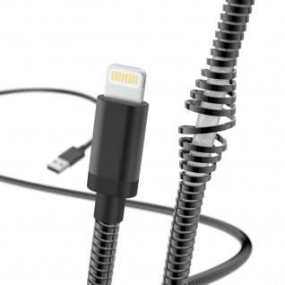 Hama Lightning USB Ladekabel Metall 1, 5m Daten-Kabel für Apple iPhone iPod iPad