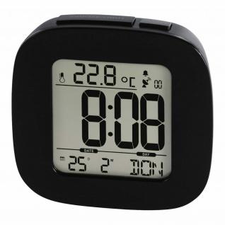 Hama Digital Funkwecker Speed-Alarm Klein Datum Thermometer Temperatur