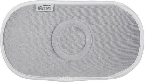 Speedlink Neopren Tasche Schutz-Hülle Etui silber für PSP Slim&Lite Fat Street