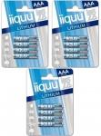 GP Batteries iiquu Lithium AAA-Batterien 12er Pack Batterie 1, 5V FR03 L92 Micro