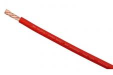 AIV Strom-Kabel 16, 00mm² Rolle 100m Rot Fahrzeug-Leitung Batteriekabel Car Hifi