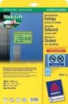 Avery Zweckform L6071 40x Etiketten wiederablösbar 199, 6x143, 5mm blau Aufkleber