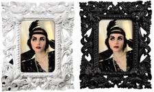 Hama Portraitrahmen Vintage Portrait Fotorahmen Bilder-Rahmen Barock Antik Retro