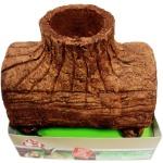 Tetra Baum-Haus essbar Höhle Futter Nager-Bau für Hamster Hase Meerschweinchen