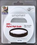 Unomat UV-Filter 52mm UV Filter Speerfilter DHG vergüted für DSLR Objektiv Foto