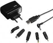 Hama USB Reise-Ladegerät Lade-Set für Navi 1A 7 Anschlussvarianten 240V