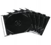 Hama 10x CD-Hüllen CD-ROM Slim Leer-Hülle BluRay DVD-Hüllen 10er Pack Jewel Case