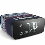 Pure Siesta Rise Digital-Radio Radio-Wecker Uhren-Radio FM DAB RDS USB Bluetooth
