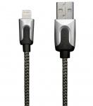 XtremeMac HQ Premium Lightning-Kabel Cable 2m Silver für iPhone X 8 7 6 iPad Pro