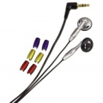 Hama In-Ear-Stereo-Kopfhörer HK-254 Headphone 3, 5mm Klinke 1, 1m Silber