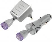 Hama USB-Ladegerät SET USB-Netzteil Kfz Lader Adapter für Handy iPhone iPod MP3