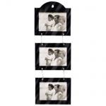 Hama Porträtrahmen Galerie 3x 10x15cm Bilder-Rahmen Foto-Rahmen Porträt Motiv