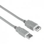Connec´style USBVerbindungskabel Kabel 1, 8 m Grau A Typ-Stecker- B Typ-Steckel