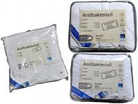 Wendre Bett-Decke Kissen Antibakteriell 100% Baumwolle für Allergiker waschbar