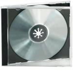 Ednet 10x CD-Hüllen 1x CDs CD-ROM Leer-Hülle DVD-Hüllen 10er Pack Jewel Case