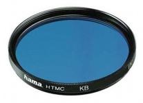 Hama Korrektur-Filter Blau 37mm KB 15 - 120 80A Blau-Filter Foto DSLR Camcorder
