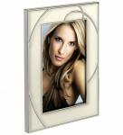 Hama Portraitrahmen Silber Weiß 10x15cm Portrait Bilder-Rahmen Foto Bild Porträt