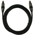 Brooklyn HQ Toslink-Kabel ODT-Stecker Metall optisches Kabel Digital Audio SPDIF