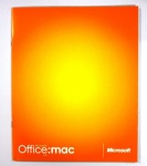 Microsoft Office for MAC v.X Vollversion Booklet + CD Deutsch Version vX v. X OS