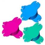 Hama Coiling Winder Kabeltrommel für Kameras Handys Konsolen 3er Set 3 Farben