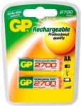 GP Batteries PROFI 2x AA-Akku 2700 mAh Series 1, 2V Mignon HR6 Batterie AA Akkus