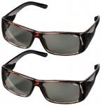 2x PACK Hama 3D Brille Polfilterbrille passiv polarisiert für 3D-TV Kino Beamer