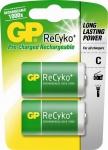 GP Premium 2x Baby C Akku 3000mAh ReCyko 1000x wiederaufladbar HR14 Batterie R14