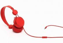 COLOUD On-Ear Headset Colors Red Rot HiFi Kopfhörer Mikrofon Fernbedienung 3, 5mm