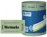 Avery Zweckform 5x Bon-Rolle grün 5000x Wertmarke Getränke-Marke Bon Marken Bons