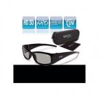 EX3D Kinder 3D Brille passiv Polfilterbrille Kids für HD 3D-TV Beamer Kino RealD