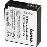 Hama Li-Ion Foto Akku Batterie für Panasonic DMW-BLE9 Lumic DMC GF5 GF3 etc.