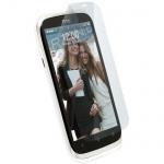 Krusell DELUXE Display Schutz Folie Schutzfolie für HTC Desire V Desire X Screen