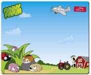 Speedlink Silk Mousepad Funny Farm Mauspad Motiv Bauernhof flach 1, 5mm dünn