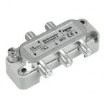 Hama BK-Verteiler Sat Kabel Antenne TV Splitter 4-fach 4-1000 MHz 1-4 F-Kupplung