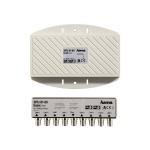 Hama DISEqC Schalter 8/1 Switch 8 1 HDTV Full-HD 3D Sat-Verteiler Multiprotokol