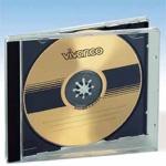 5 x Vivanco CD CD-Rom DVD DVD-Rom Jewel Case LEERHÜLLE