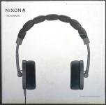 NIXON The Nomadic On-Ear Headset Kopfhörer 40mm 3, 5mm Gunmetal für MP3 iPod etc