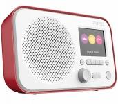 """Pure Elan E3 Digital-Radio DAB DAB+ FM UKW Küchen-Radio 2, 8"""" Display Akku-Fach"""