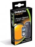 Duracell myGrid Power Sleeve Adapter für Blackberry Pearl Cover Tasche Ladegerät