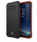 Adidas Solo Black Cover Hard-Case Tasche Schutz-Hülle Box für Samsung Galaxy S8