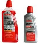 Nigrin PACK Auto-Shampoo Konzentrat + Hart-Wachs Lack-Politur Reinigung Pflege