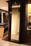 Spezial Standspiegel groß 2, 5m schwarzer Rahmen Boutique Ladeneinrichtung