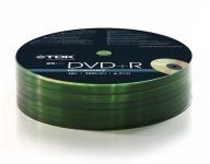 TDK PACK 100x DVD-Rohlinge 4.7 GB 120 Min.16x Full Speed DVD+R Rohling Leer-DVD