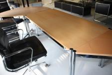 USM Haller Arbeitsplatz Tisch Schreibtisch 150x100cm 1, 5m Buche natur
