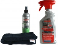 Nigrin Set Kunststoff Tiefen-Pflege +Brilliant-Glanz Detailer Reiniger Reinigung