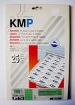 KMP Ordnerrücken Etiketten PT 74 Grün 100 Stück 190 x 61mm nicht durchscheinend
