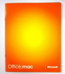 Microsoft Office for MAC v.X Vollversion Booklet + CD Deutsch Version vX v. X OS